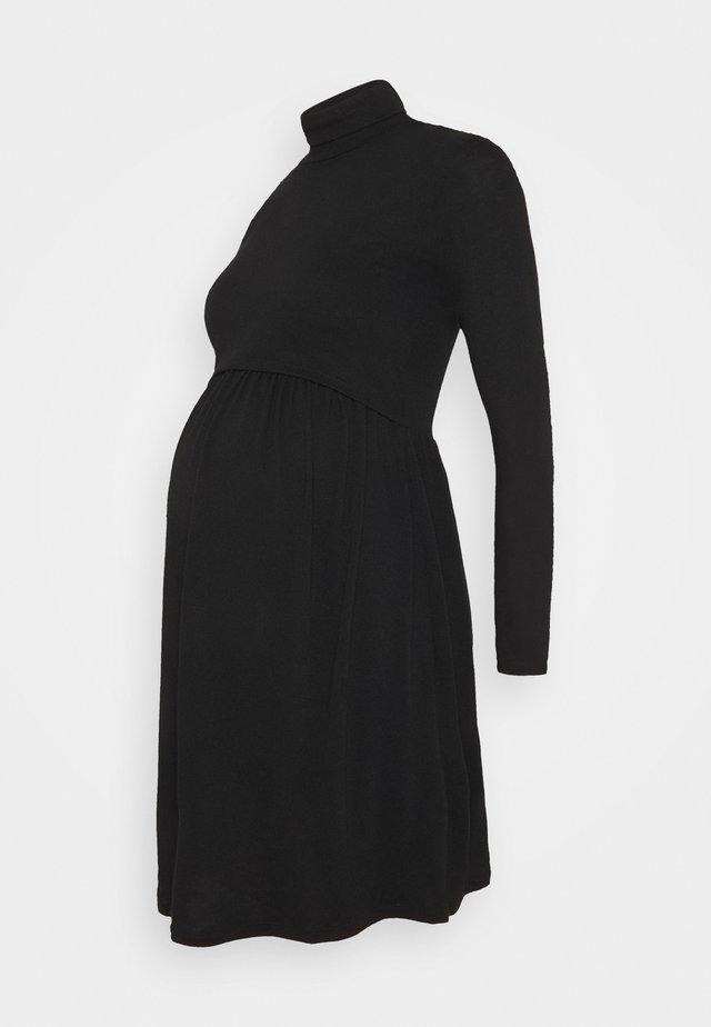 FANETTE - Jersey dress - black