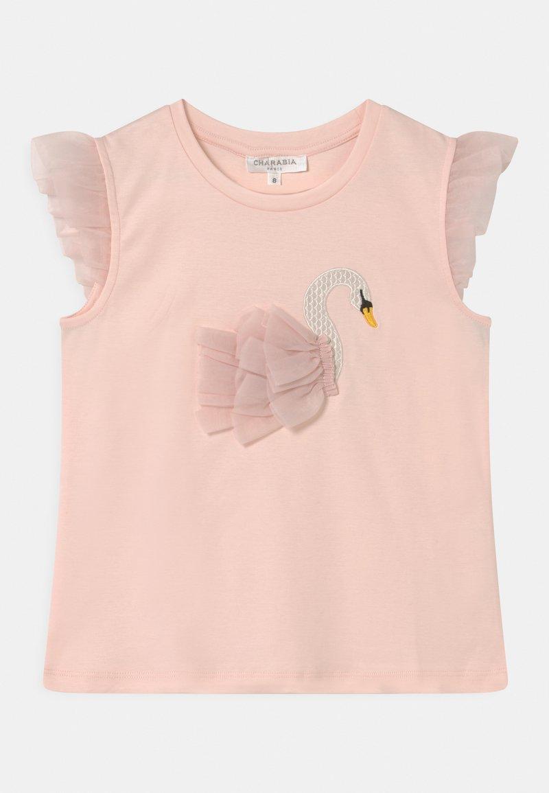 Charabia - FANCY - Print T-shirt - pinkpale
