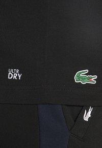 Lacoste Sport - GRAPHIC - Print T-shirt - black - 5