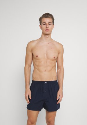 2 PACK - Boxer shorts - dark blue/white