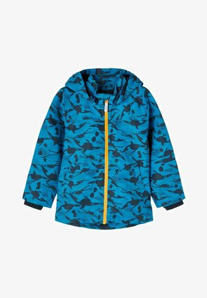 Waterproof jacket - captains blue