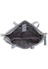 Mandarina Duck - MD20 LUX SCHULTERTASCHE 43 CM LAPTOPFACH - Handbag - gun metal - 4