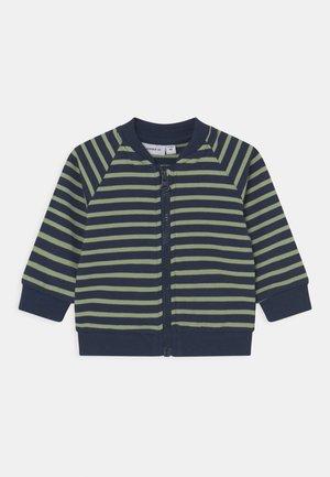 NBMKALVIN - Sweater met rits - dark sapphire