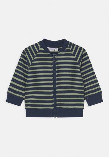 NBMKALVIN - Zip-up sweatshirt - dark sapphire