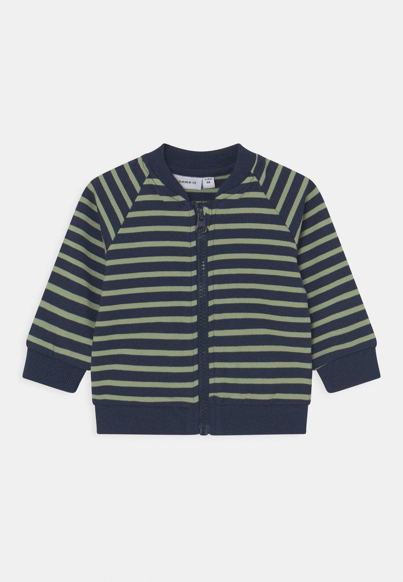 Name it - NBMKALVIN - Zip-up sweatshirt - dark sapphire