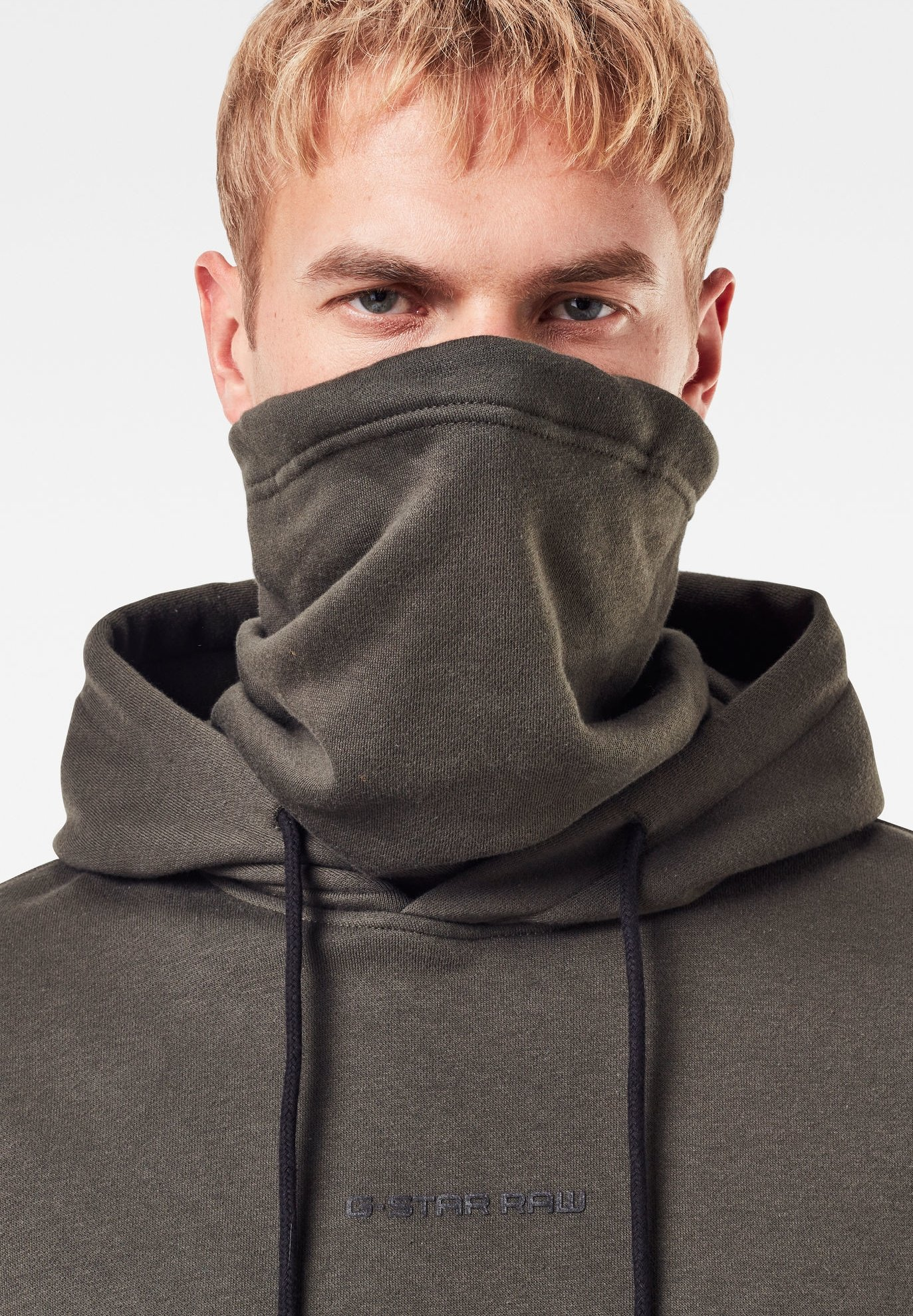 Homme FUNNEL HOODED - Sweat à capuche