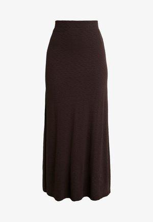 AMILIA SKIRT - Maxi skirt - chestnut