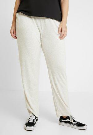 CARCOZYNESS LONG PANT - Trousers - pumice stone/melange