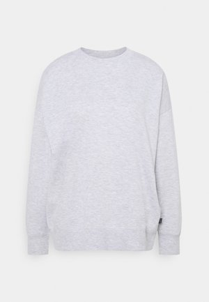 LONG SLEEVE CREW - Sweatshirt - grey marle