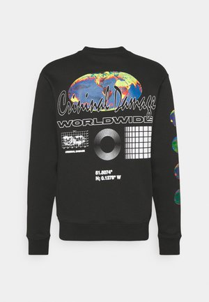 WORLDWIDE - Sweatshirt - black