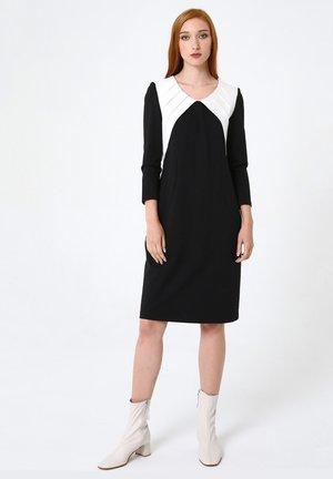 Day dress - schwarz-weiss