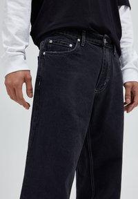 PULL&BEAR - Jeans baggy - mottled dark grey - 3