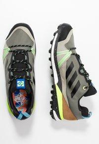 adidas Performance - TERREX SKYCHASER  - Hiking shoes - legend green/core black/signal green - 1
