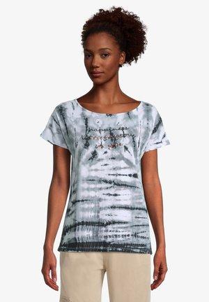 T-shirt imprimé - cream khaki