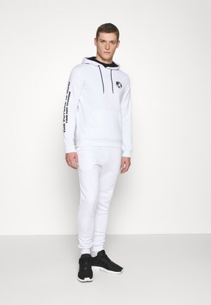 SET - Sweat à capuche - white