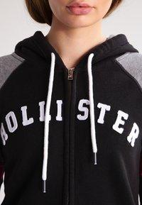 Hollister Co. - CORE - Zip-up hoodie - black - 3