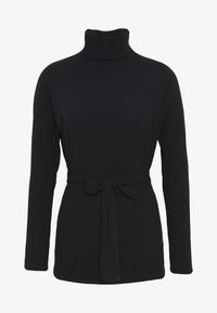 New Look - ROLL NECK - Strikkegenser - black - 3
