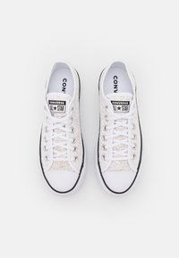 Converse - CHUCK TAYLOR ALL STAR OPEN PLATFORM - Trainers - white/black/white - 5