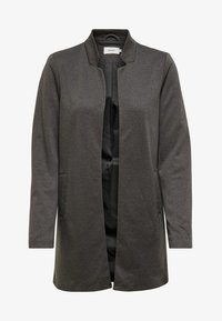 ONLY - ONLSOHORUBY SPRING COAT CC OTW - Krátký kabát - dark grey melange - 0