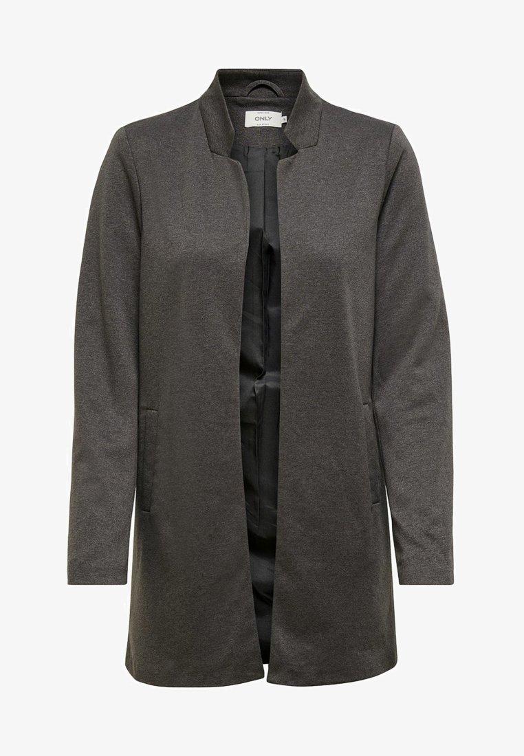 ONLY - ONLSOHORUBY SPRING COAT CC OTW - Krátký kabát - dark grey melange