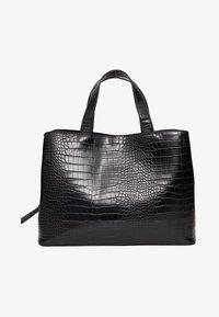 MITTELGROSSE FARBIGE TOTE-BAG 00716011 - Tote bag - black