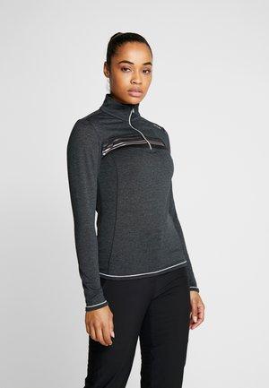 WOMAN - Fleece jumper - nero melange