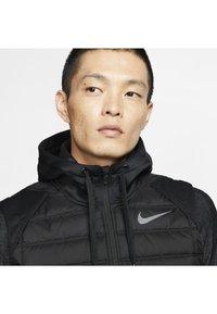Nike Performance - THERMA - Waistcoat - black/dark grey - 3