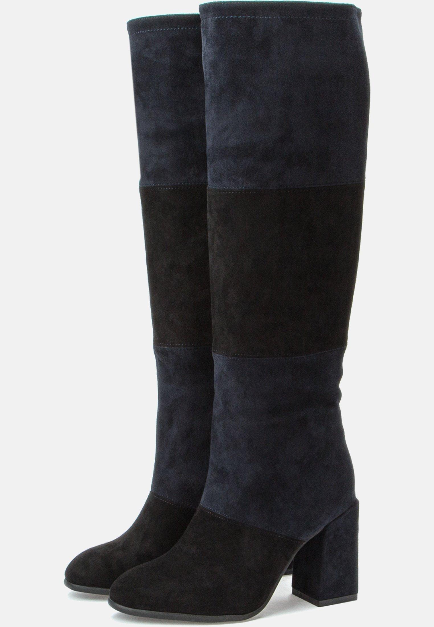 Betsy Bottes à talons hauts - black dark blue - Bottes femme Designer
