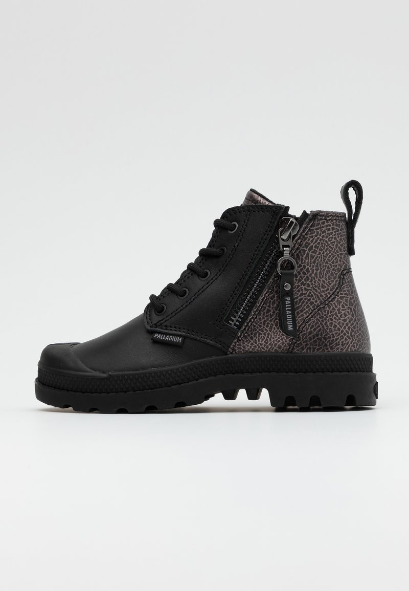 Palladium - PAMPA ZIP ROCK - Lace-up ankle boots - black