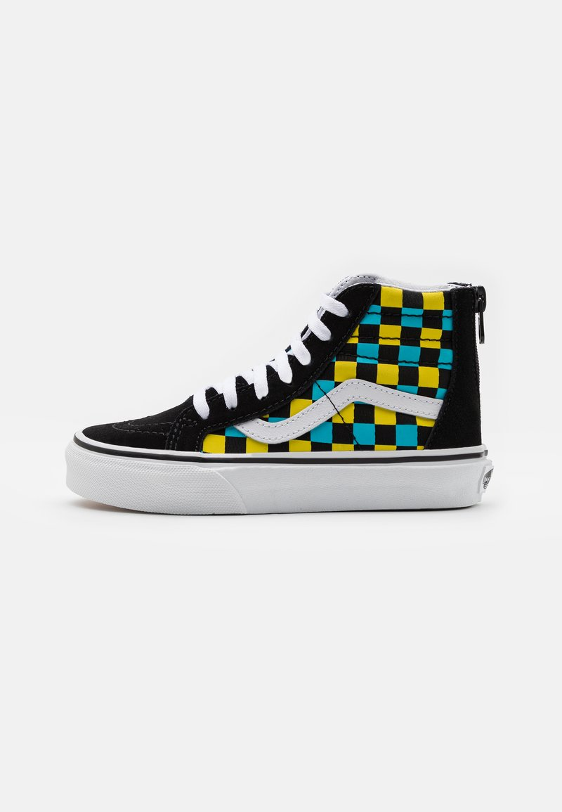 Vans - SK8 ZIP UNISEX - High-top trainers - black/multicolor