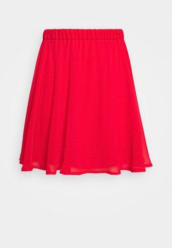 Pamela Reif x NA-KD CIRCLE SKIRT - Jupe trapèze - red