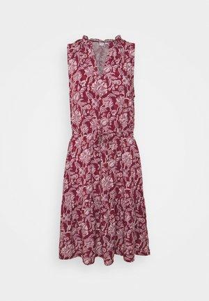 ZEN EWAIST DRESS - Vestito estivo - burgundy