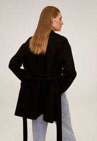 Mango - BREMEN-I - Short coat - black - 2