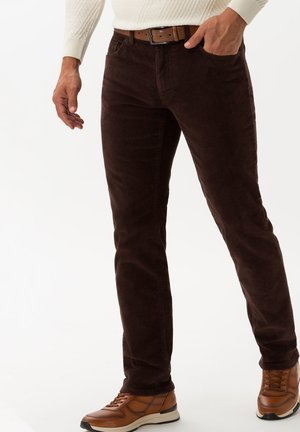 STYLE COOPER  - Trousers - brown