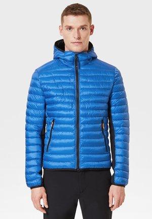 Winter jacket - azur-blau