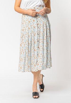A-line skirt - light beige