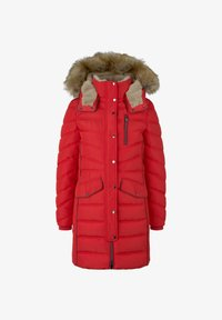 TOM TAILOR - SIGNATURE PUFFER COAT - Winter coat - strong red - 5