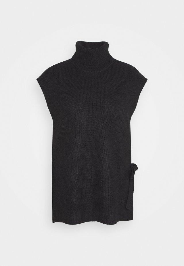 PARISA AIDEEN - Print T-shirt - black