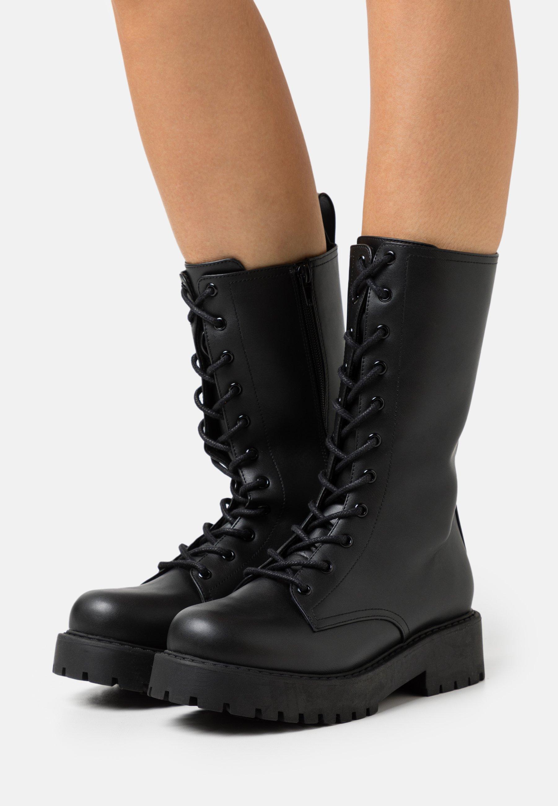 Women VEGAN DEREK BOOT - Platform boots