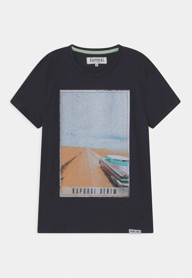 ROADTRIP  - T-shirt imprimé - navy