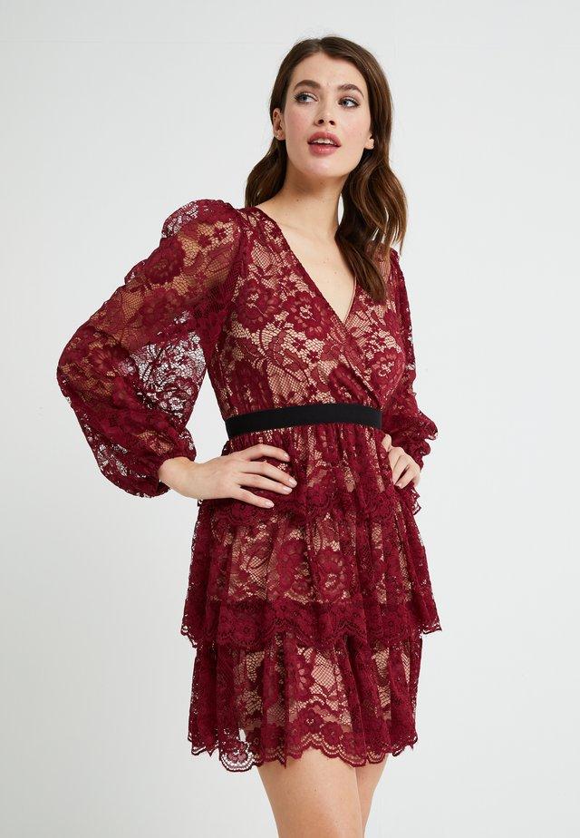 Cocktail dress / Party dress - burgundy