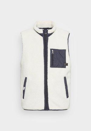 BATTLE VEST - Waistcoat - off white