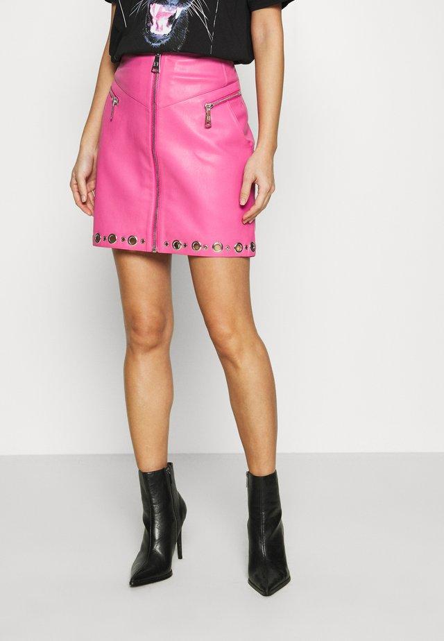 MOISE SKIRT - Mini skirt - radical pink