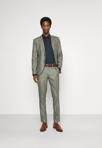 Selected Homme - SLHMYLOLOGAN  - Anzug - grey/structure - 1