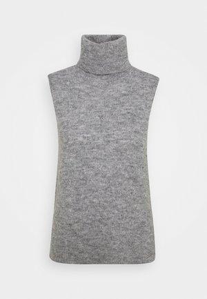 FEMME VEST - Linne - mottled grey