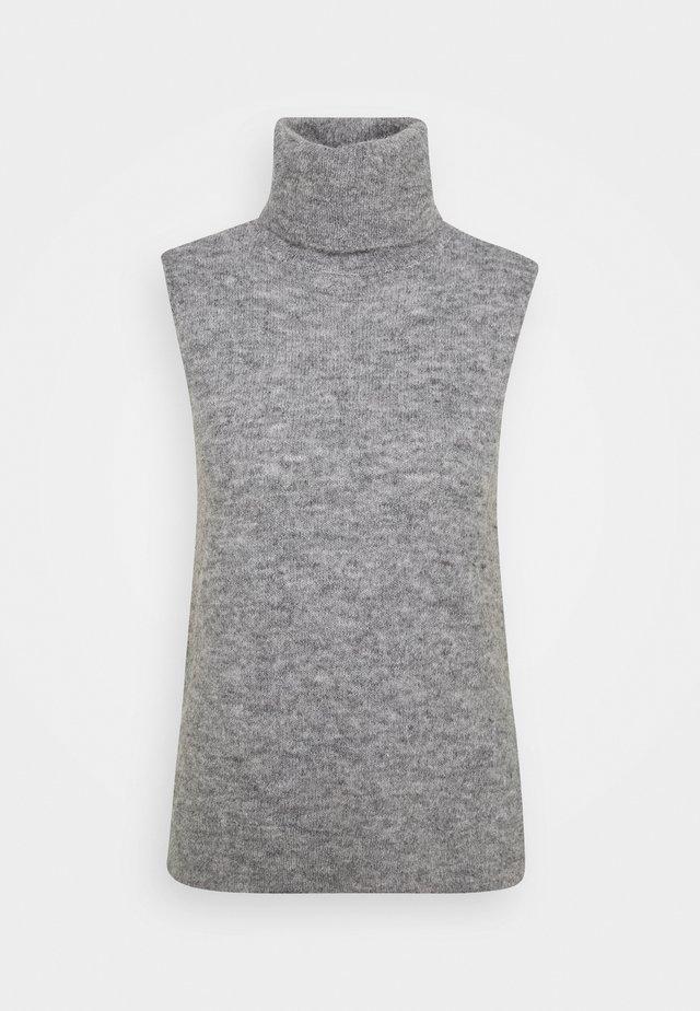 FEMME VEST - Top - mottled grey