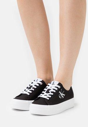 FLATFORM LACEUP - Sneakers basse - black