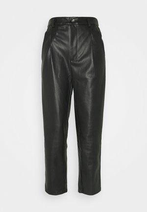 ANKEL PANTS - Trousers - black