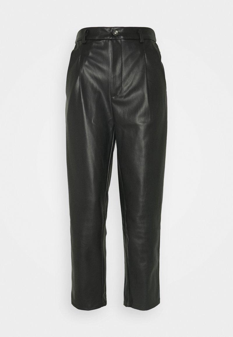 Noisy May - ANKEL PANTS - Bukse - black