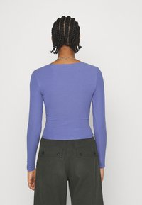 Monki - VINNIE  - Long sleeved top - lilac purple medium dusty